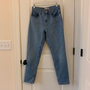 Everlane High Waist Straight Jean Size 27